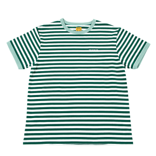 【WKND】Stripe Tee - Green