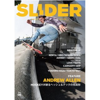 SLIDER MAGAZINE Vol.35 【ANDREW ALLEN】