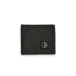 【POLAR SKATE CO.】Cordura Wallet Black