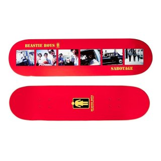 【Girl Skateboards】Beastie Boys Sabotage By Spike Jonze Deck - 8.0