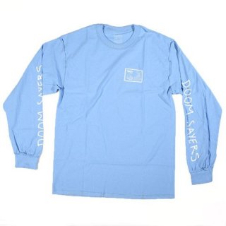 <img class='new_mark_img1' src='//img.shop-pro.jp/img/new/icons56.gif' style='border:none;display:inline;margin:0px;padding:0px;width:auto;' />【DOOM SAYERS】 Inside Out Snake Shake Long Sleeve T Shirt Light Blue