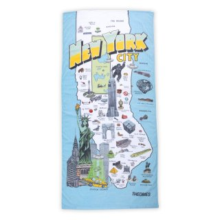 theories beach towel NYC skate tourist