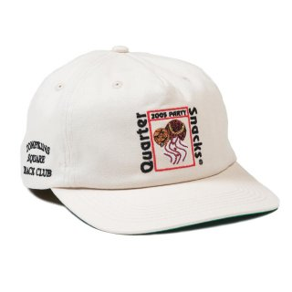 QUARTERSNACKS PARTY CAP- WHITE