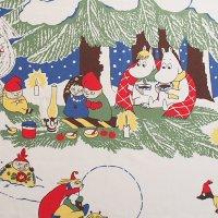 Moomin/ムーミン ファブリック/クリスマス 110×52