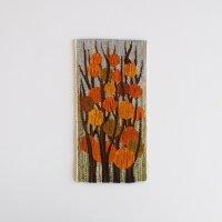 スウェーデン フレミッシュ織りタペストリー/実りの木