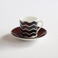 【難あり】Gustavsberg VIGGEN コーヒーカップ&ソーサー