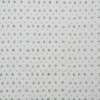 marimekko ヴィンテージファブリック Muija/白×ライトグリーン/切売り 70×35