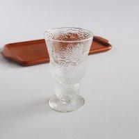 Nuutajarvi/ARABIA Fauna/ファウナ ワイングラス/クリア