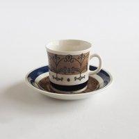 【訳あり】Gefle Aurora コーヒーカップ&ソーサー