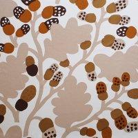 marimekko/マリメッコ ヴィンテージファブリック Pahkinapuu/ブラウン 132×124