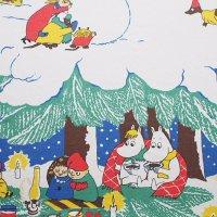 Moomin/ムーミン ファブリック/クリスマス 135×108