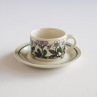 ARABIA/アラビア Flora コーヒーカップ&ソーサー