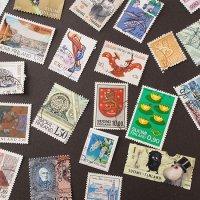 フィンランドの古切手 A/いろいろな切手56枚
