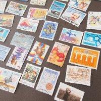 フィンランドの古切手 E/いろいろな切手56枚