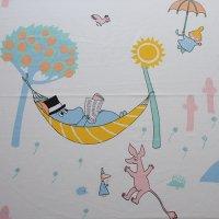 《期間限定値引》Moomin/ムーミン ヴィンテージファブリック/アイボリー150×61/切売り