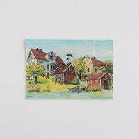 JUNIBACKEN/ユニバッケン限定ポストカード/屋根の上のピッピ
