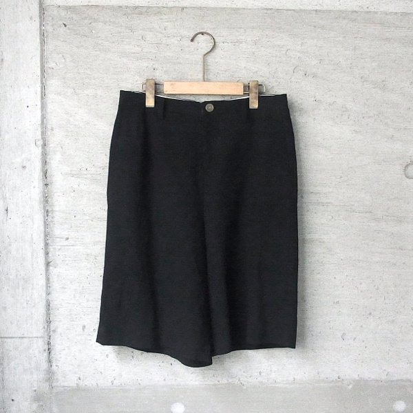 DIGAWEL | WIDE SHORT PANTS(BLACK)
