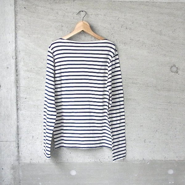 YOUNG & OLSEN The DRYGOODS STORE | OLD FISHERMAN'S TEE(WHITE x NAVY)