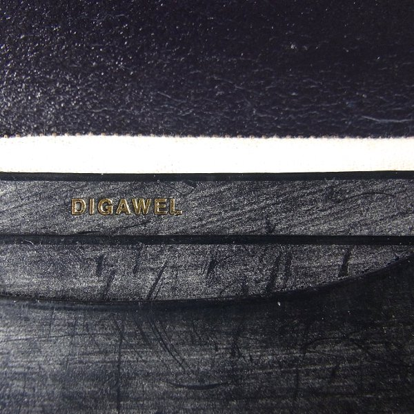 【予約商品】DIGAWEL | GARSON PURSE BRIDLE LEATHER(NAVY)