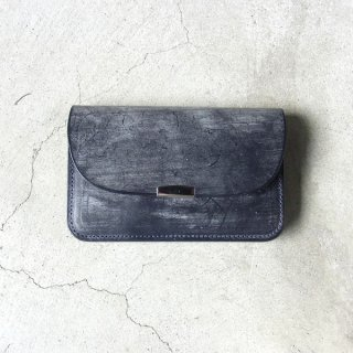 [ 予約商品 ] DIGAWEL | GARCON PURSE BRIDLE LEATHER(NAVY)