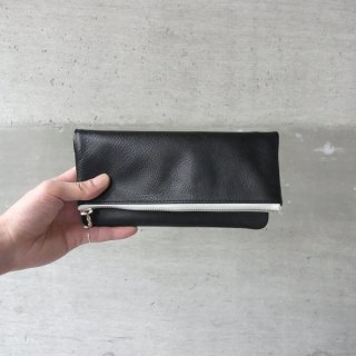 DIGAWEL | LEATHER POUCH SMALL(BLACK)