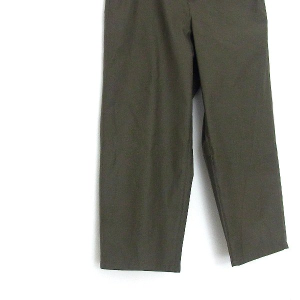 DIGAWEL | STRAIGHT PANTS(OLIVE GREEN)