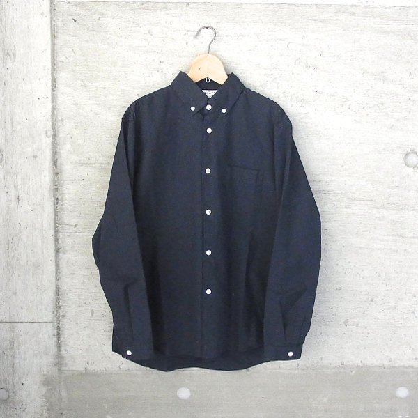 DIGAWEL | BUTTON-DOWN COLLAR SHIRT(NAVY)