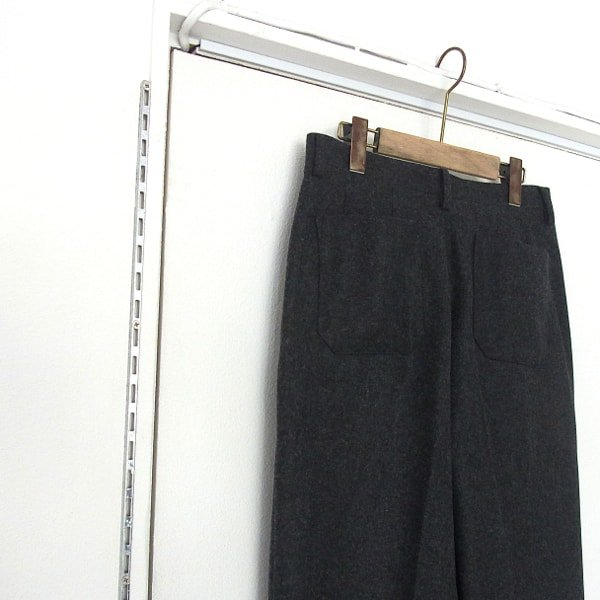DIGAWEL | HIGH WAIST PANTS(CHARCOAL GRAY)