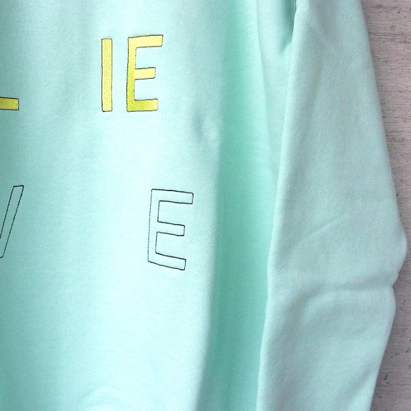DIGAWEL | SWEATSHIRT BELIEVE(PALE GREEN)
