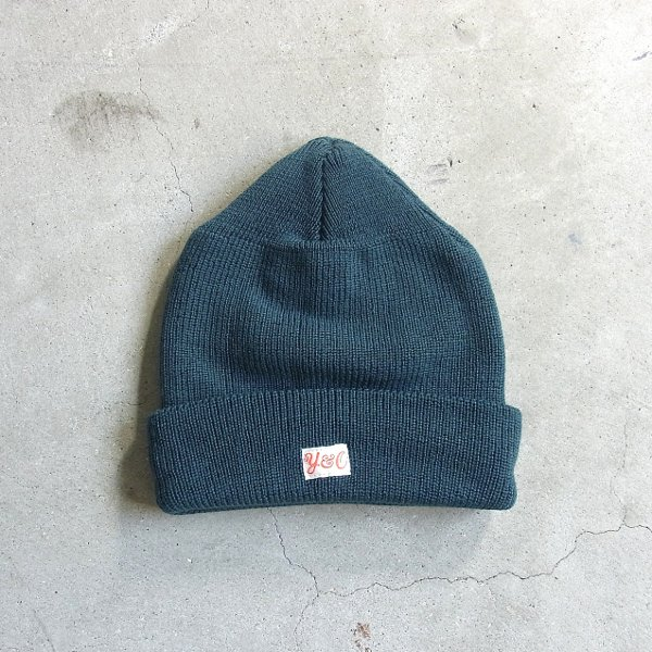 YOUNG & OLSEN The DRYGOODS STORE | NAVAL MERINO CAP(FOREST)