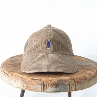 YOUNG & OLSEN The DRYGOODS STORE | JIMMY THE CAT CORD CAP(BEIGE)