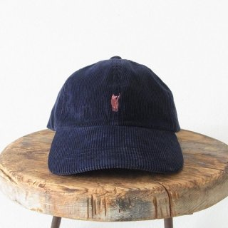 YOUNG & OLSEN The DRYGOODS STORE | JIMMY THE CAT CORD CAP(NAVY)