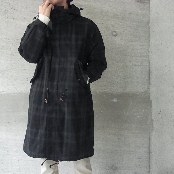 WISLOM | YORKE -BISCUIT-(CHARCOAL CHECK)