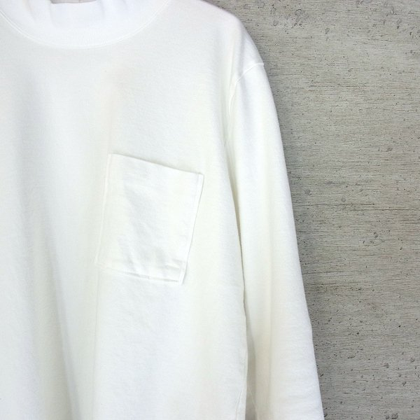 CURLY | BRIGHT MOC LS TEE(WHITE)