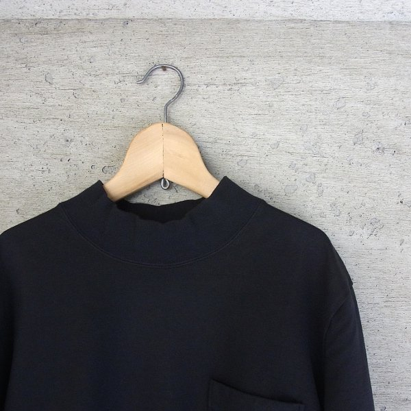 CURLY | BRIGHT MOC LS TEE(BLACK)