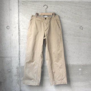 Ordinary fits   NEW PARK TROUSER(BEIGE)