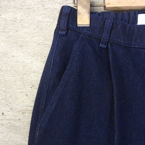 CURLY | MAZARINE WD TROUSERS(DARK INDIGO)