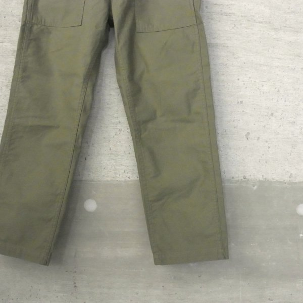 Ordinary fits | NEW BAREFOOT FATIGUE PANTS(OLIVE)