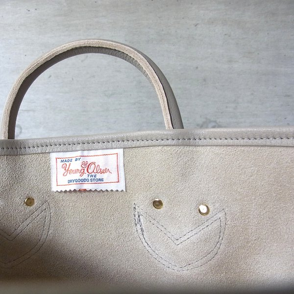 YOUNG & OLSEN The DRYGOODS STORE | PAINTER'S LEATHER TOTE(BEIGE)