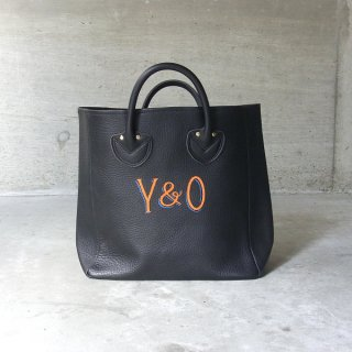 YOUNG & OLSEN The DRYGOODS STORE | PAINTER'S LEATHER TOTE(BLACK)