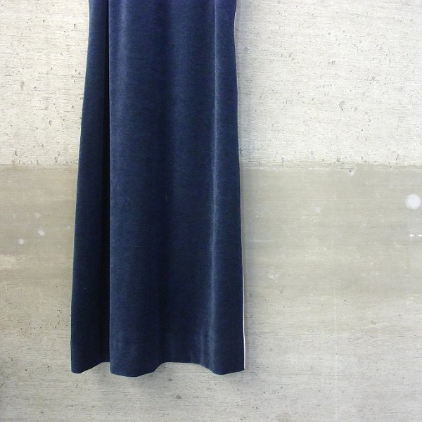 YOUNG & OLSEN The DRYGOODS STORE   VELOUR DRESS(NAVY)