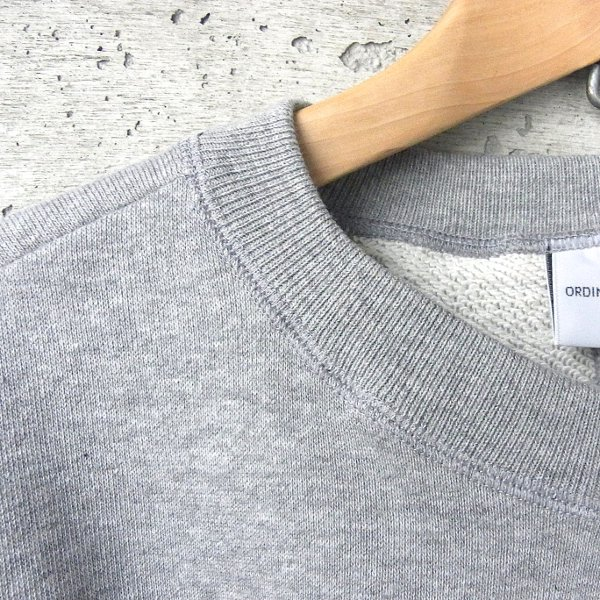 Ordinary fits | PUFF SWEAT TOPS(GRAY)