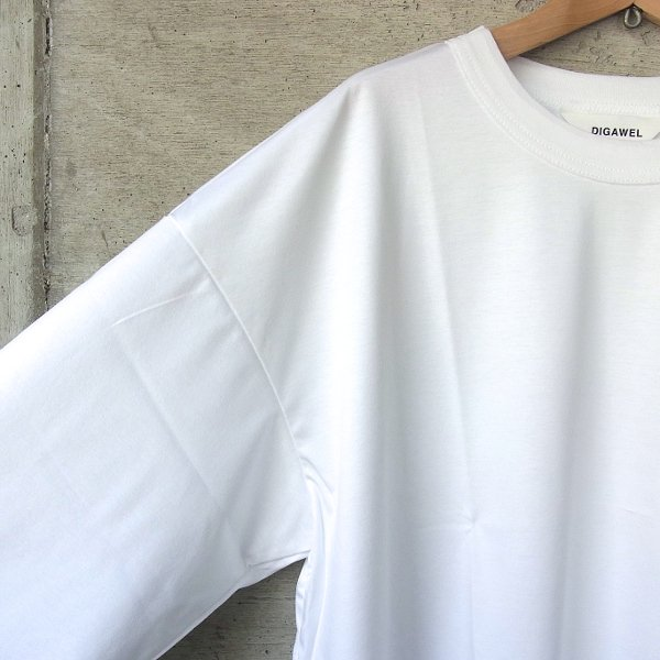 DIGAWEL | BIG 7/10 SLEEVE(WHITE)