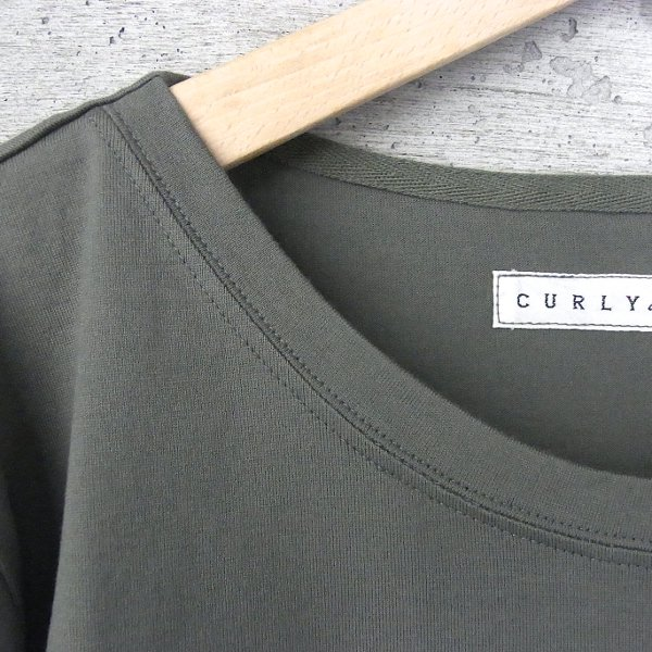 CURLY | PPM HS TEE(OLIVE)