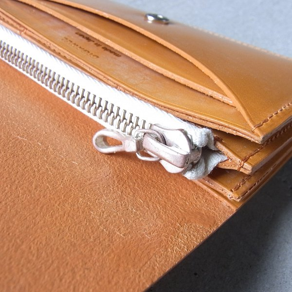 DIGAWEL | GARCON PURSE BRIDLE LEATHER(CAMEL)