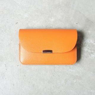 DIGAWEL | GARCON PURSE CALF LEATHER(ORANGE)