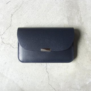 [ 予約商品 ] DIGAWEL | GARCON PURSE CALF LEATHER(NAVY)