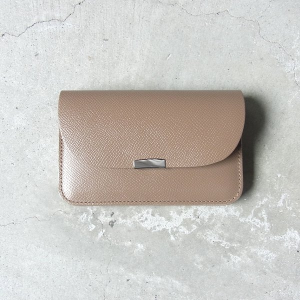 DIGAWEL | GARCON PURSE CALF LEATHER(GRAY)