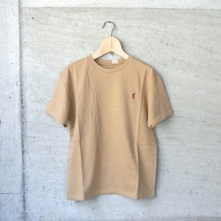 YOUNG & OLSEN The DRYGOODS STORE   CAT HOOP TEE(CAMEL)