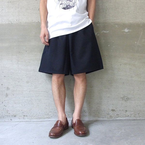 DIGAWEL | WIDE SHORTS(NAVY)